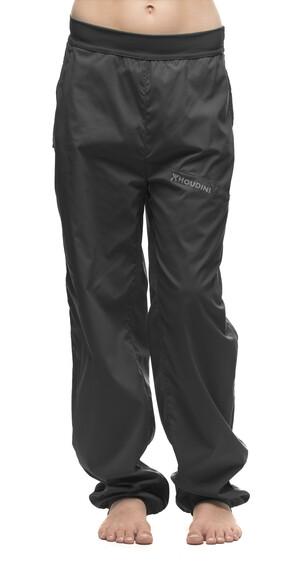 Houdini Jr Liquid Trail Pants Rock Black